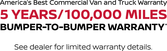Bumper-to-bumper Warranty
