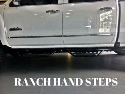 Ranch Hand Steps