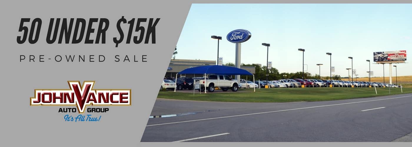 50 Under $15K John Vance Auto Group