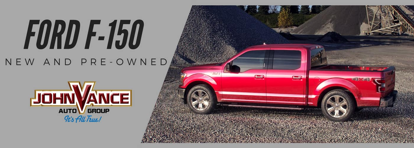 Trucks For Sale In Okc >> New And Used Ford F 150 Edmond And Okc John Vance Auto Group