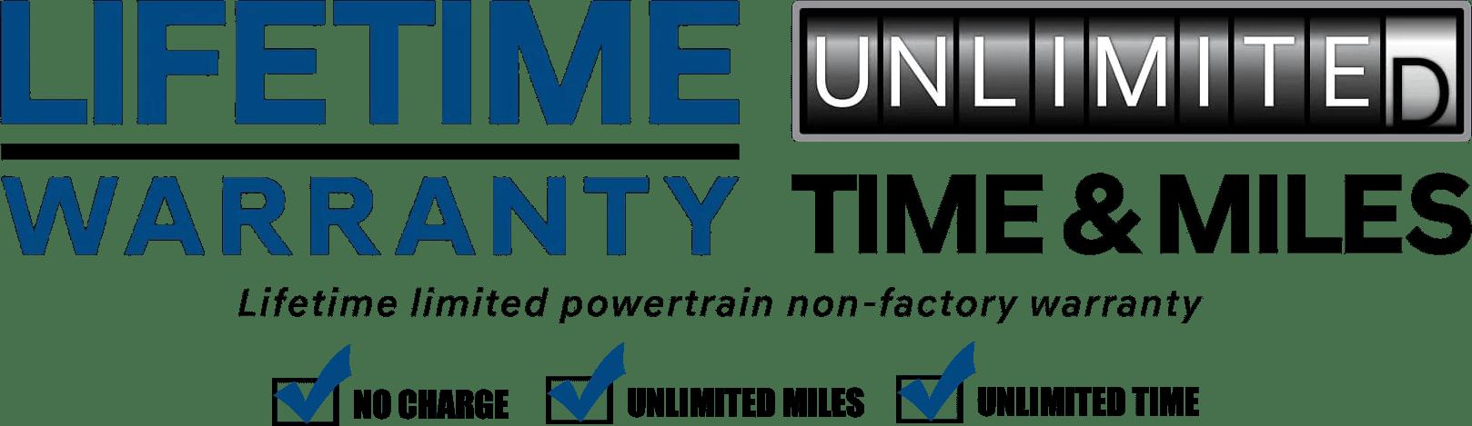 Certified Lifetime Unlimited Warranty image