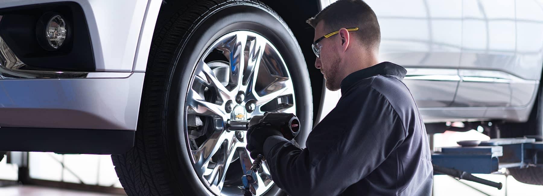 Chevrolet Tire Service