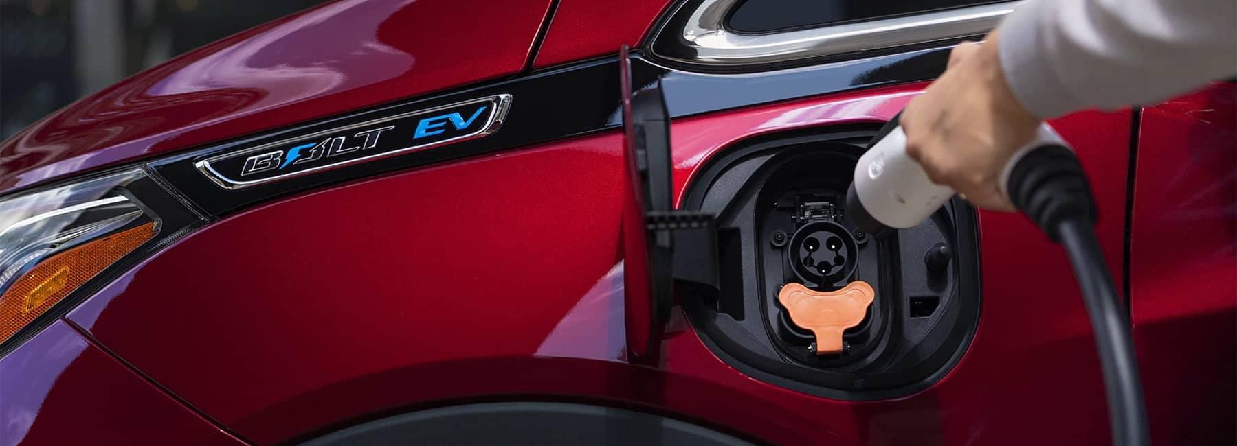 2020 Bolt EV Electric Car Charging Port View