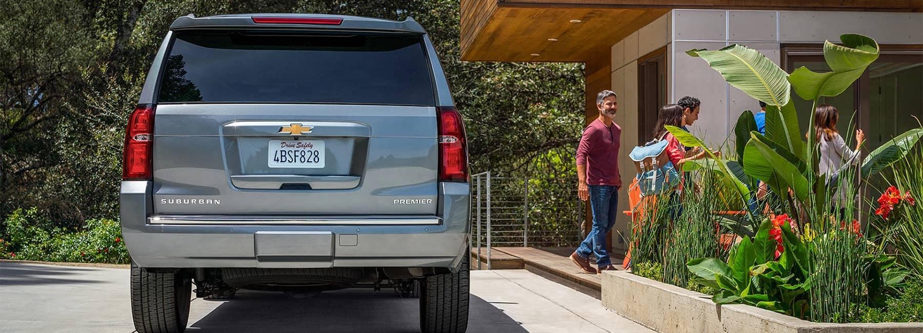 2020 Suburban Large SUV Rear View