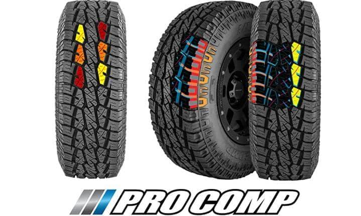 Pro Comp A/T Sport Tires