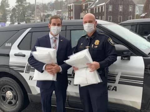 Police Mask Donations