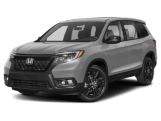 2019 Honda Passport angled
