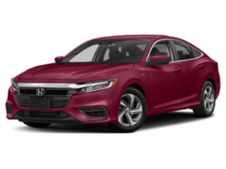 honda insight red sedan