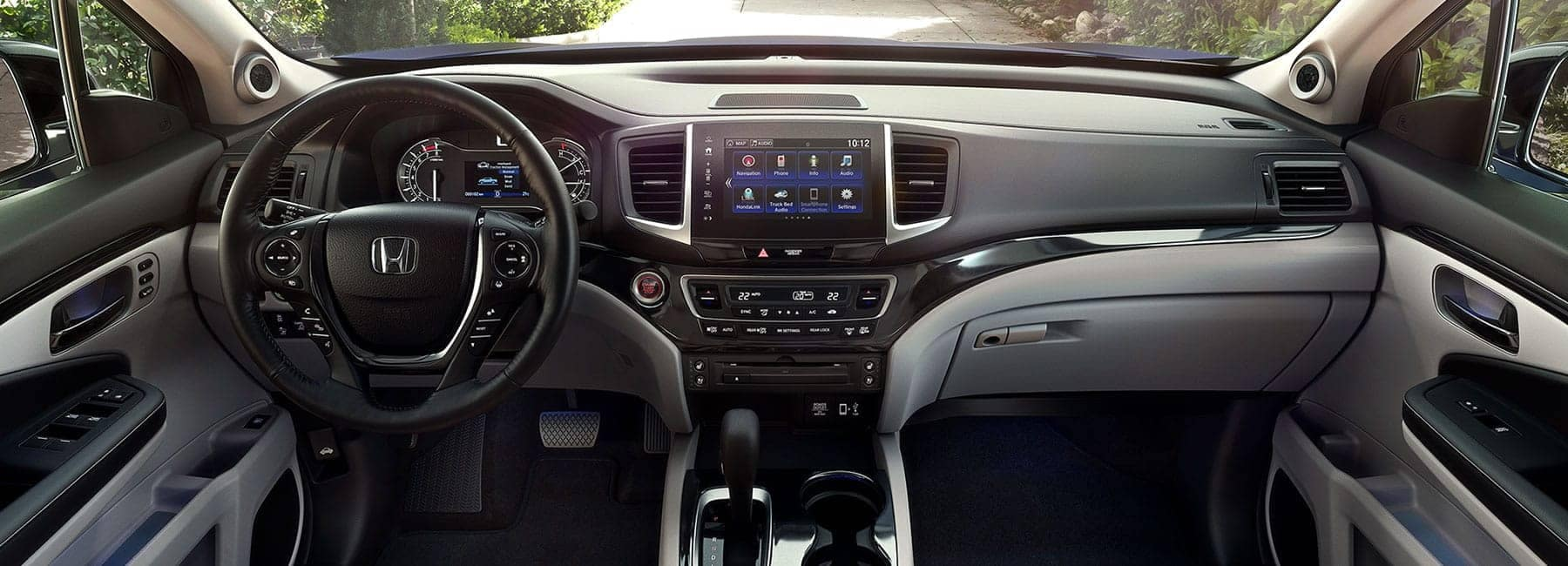 Honda Ridgeline interior car dashboard