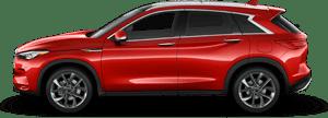 2020 INFINITI QX50 SUV in Red