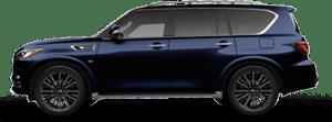 2020 INFINITI QX80 SUV in Blue