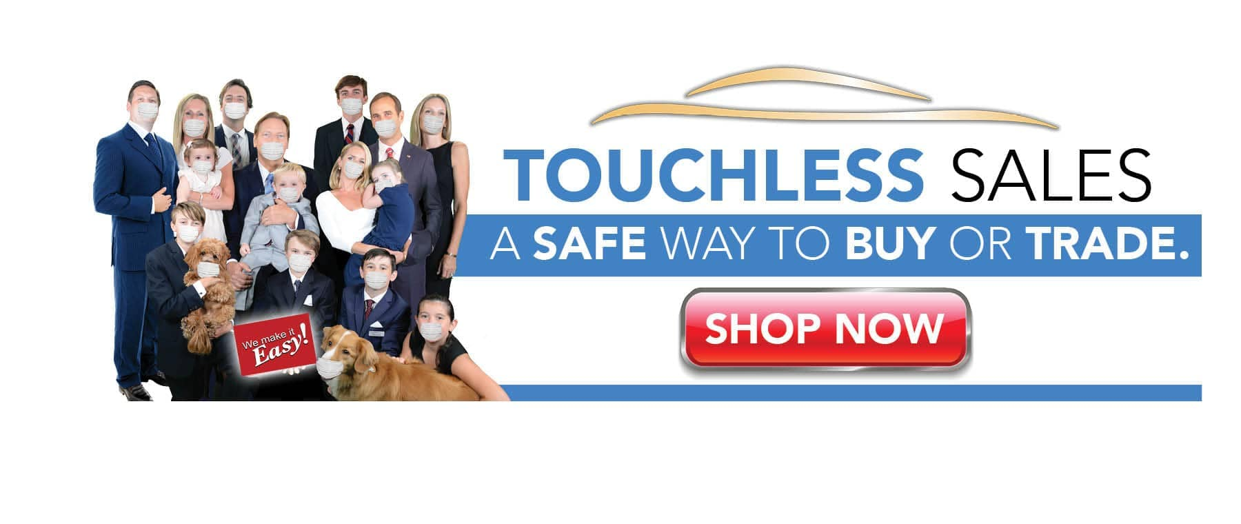 Touchless Sales banner