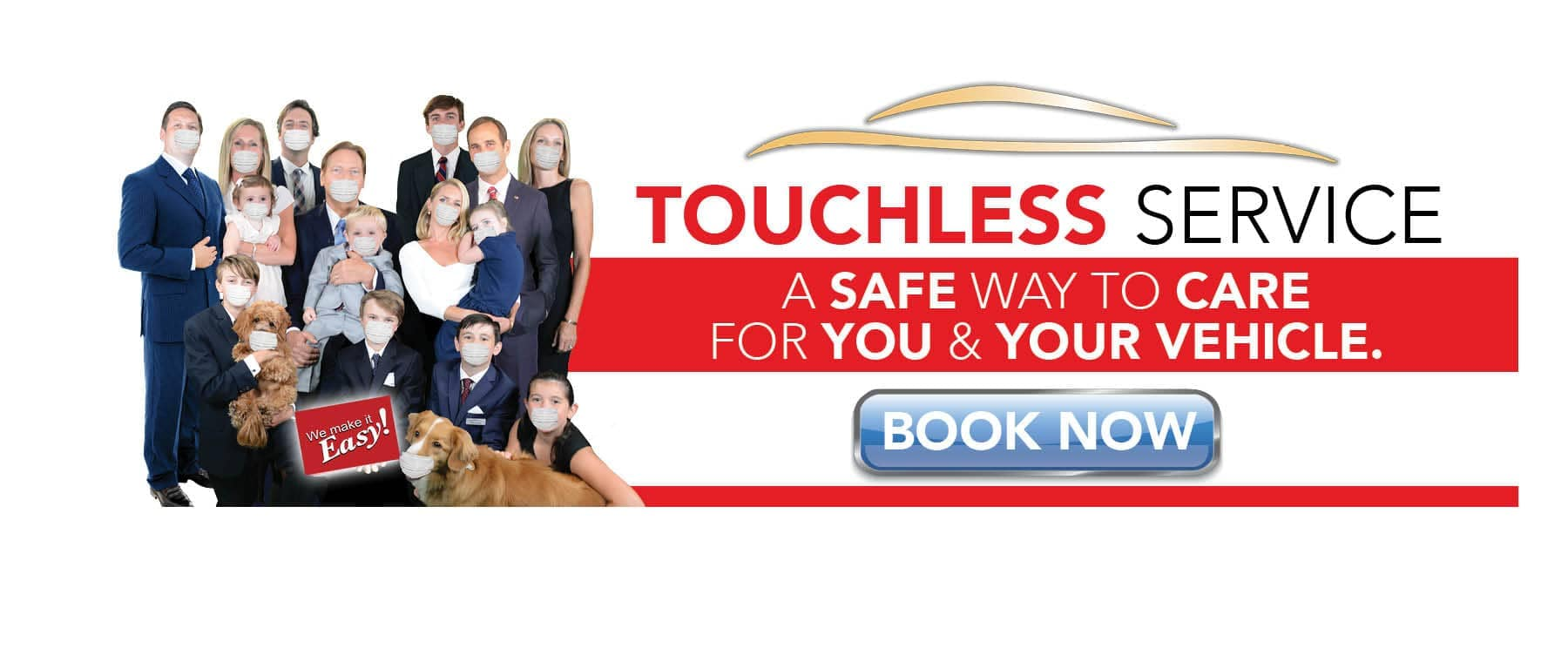 Touchless Service banner