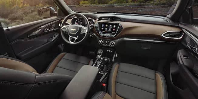 2021 Chevrolet Trailerblazer interior cabin