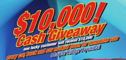 $10,000 Giveaway