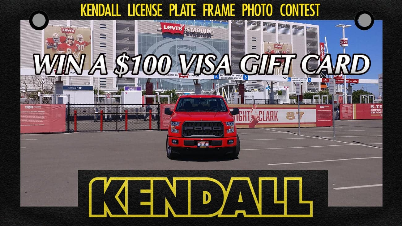 Kendall license plate
