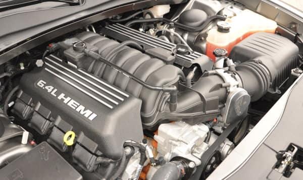 The beastly 6.4-liter HEMI