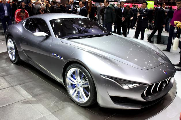 Maserati is really shining, literally!