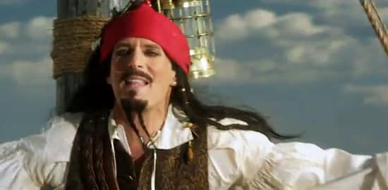 Is it Michael Bolton or Jack Sparrow?