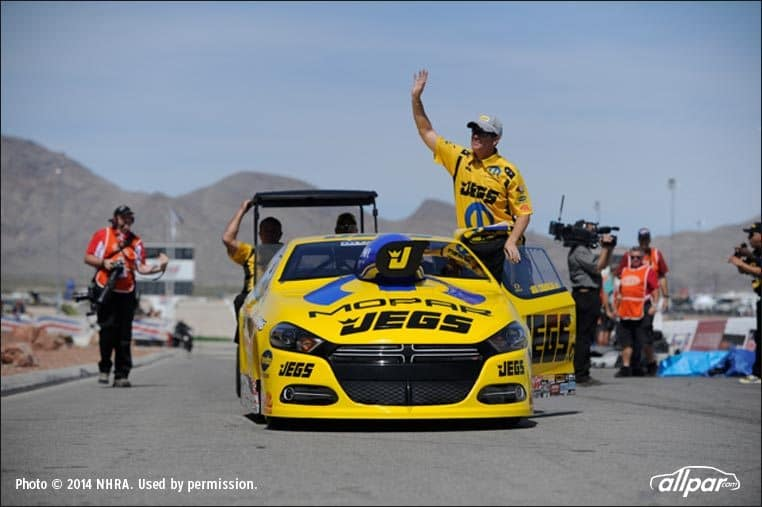 Jeg Coughlin took the No. 1 qualifying spot on Saturday