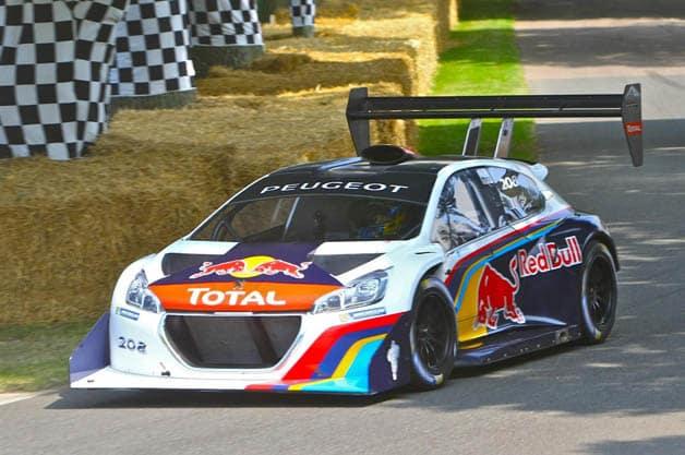 Sebastien Loeb and Peugeot aim for record
