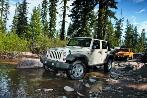 It's trail time, and time to really clean your Jeep!