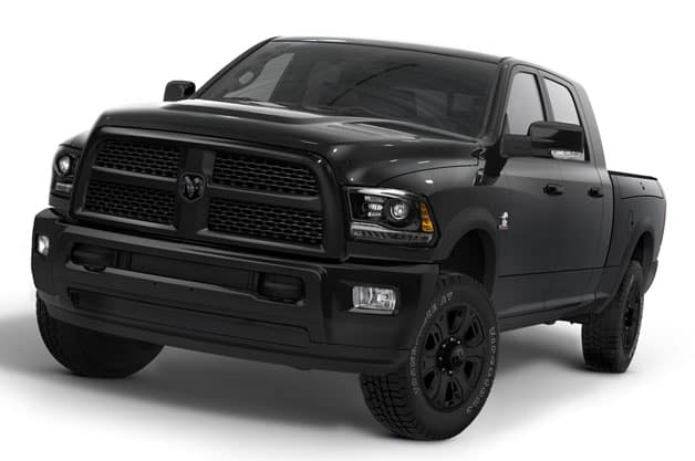 Blacked Out Ram >> Black Package Comes To Heavy Duty Trucks Kendall Dodge
