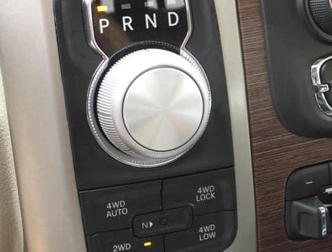 2014 Dodge Ram 1500 rotary shifter
