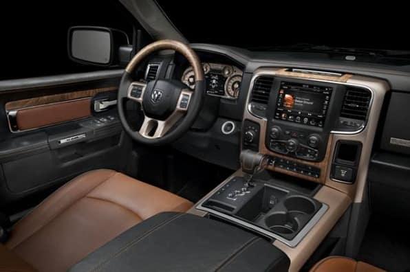 2014 Dodge Ram 1500 wood
