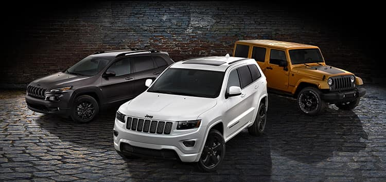 Jeep Vehicles at Jeep Dealer