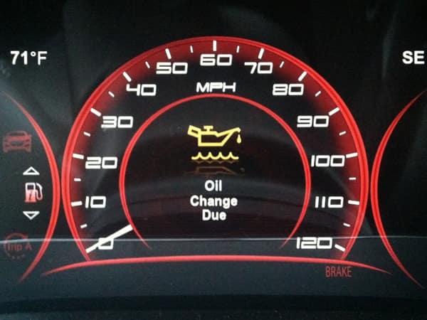 Oil Change Due