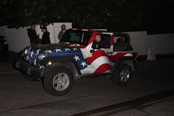 Blake Anderson Jeep Wrangler