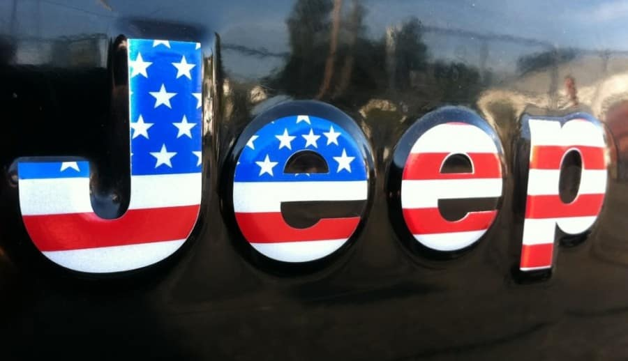 Patriotic Jeep Logo - Jeep Dealer in Miami