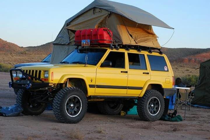 XJ Cherokee Camper - Jeep Miami