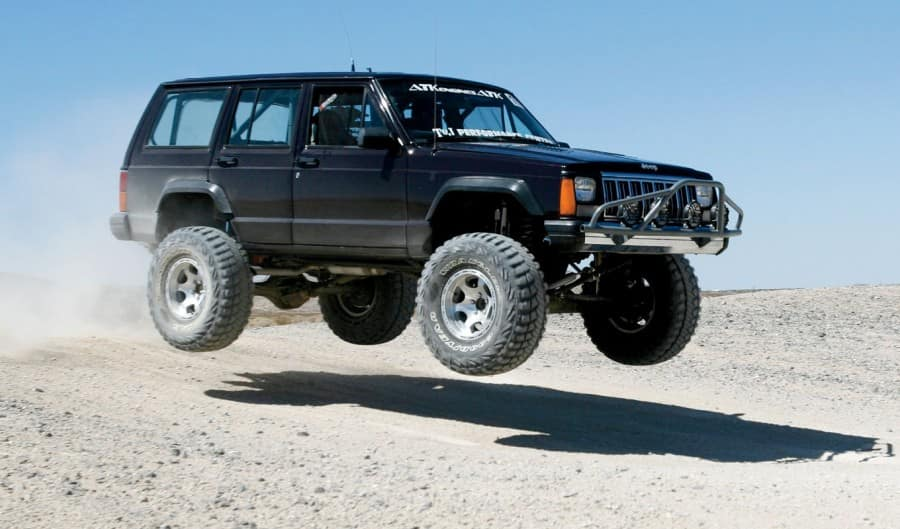 XJ Cherokee Hopper - Jeep Miami