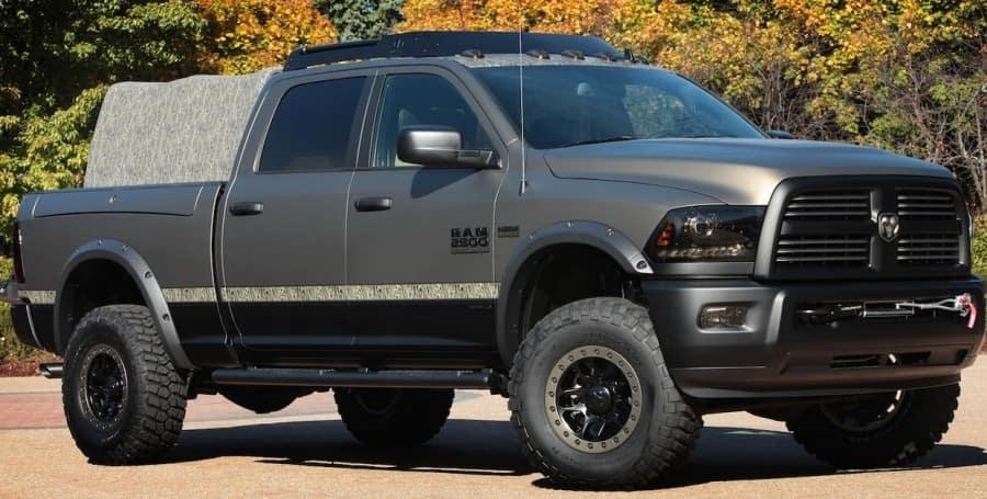 ram-2500-outdoorsman-for-2014-sema-show- Dodge Ram in Miami