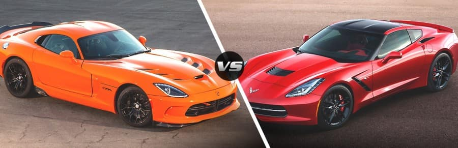 Viper_VS_Corvette- Dodge Miami