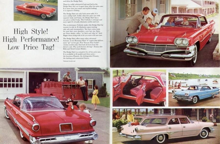1960 Dodge Dart Brochure-Dodge Dealer