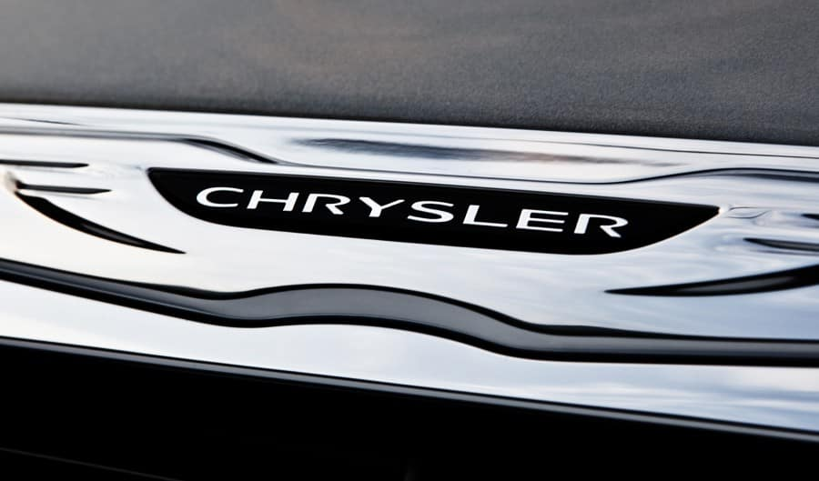 Chrysler 300 Badge