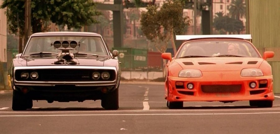 toyota-supra-dodge-charger-the-fast-and-the-furious- Used Dodge Charger