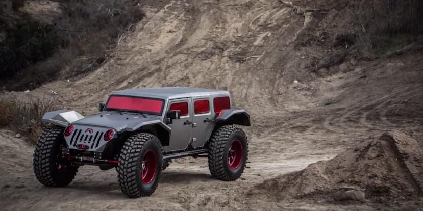 Fab Fours Legend Jeep