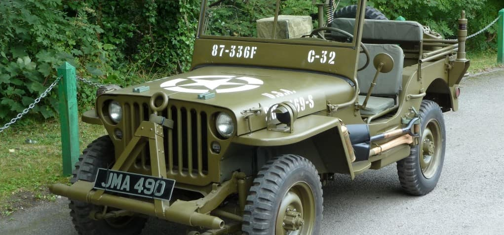 WWII Era Ford Jeep