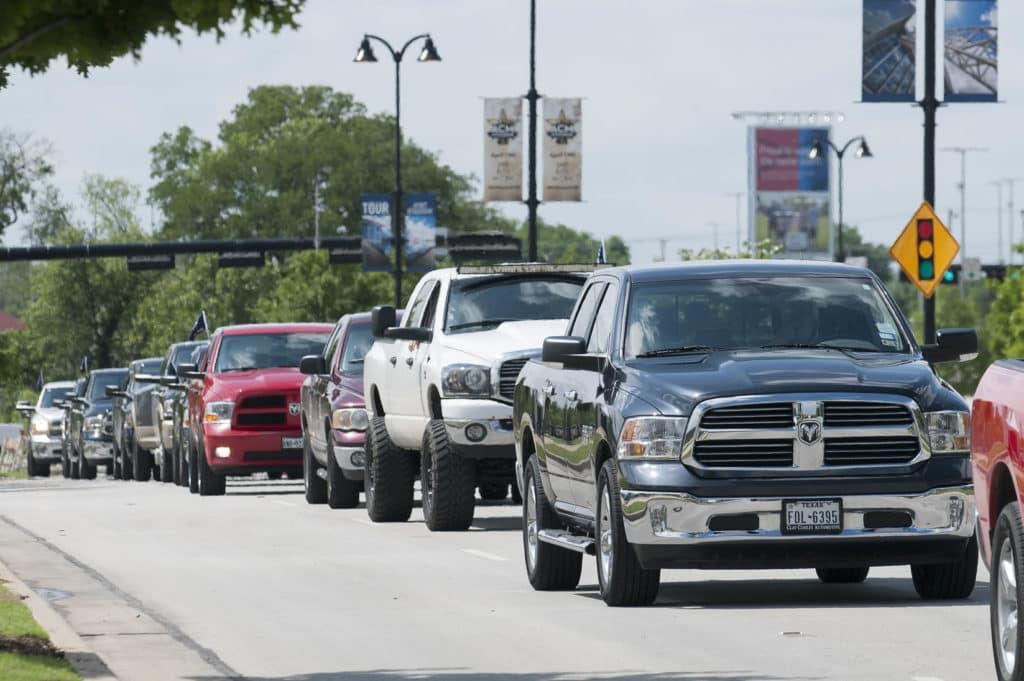 pickup parade