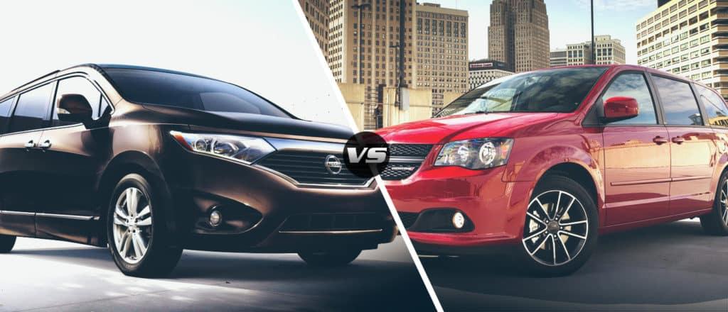 Dodge Grand Caravan vs. Nissan Quest