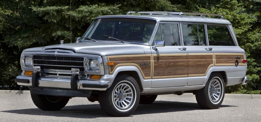 1989 Jeep Grand Wagoneer; Based on the Jeep SJ platform, Jeep Wagoneer models (1963-1991) created the premium SUV segment