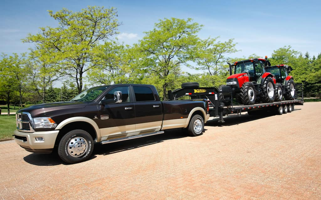 2013 Ram 3500 Heavy Duty with best-in-class towing