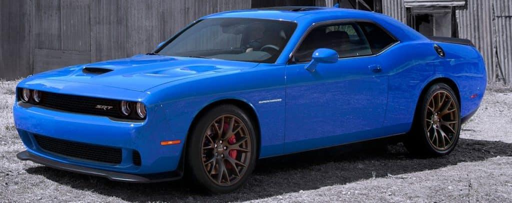 2016 Dodge Challenger SRT - B5 Blue