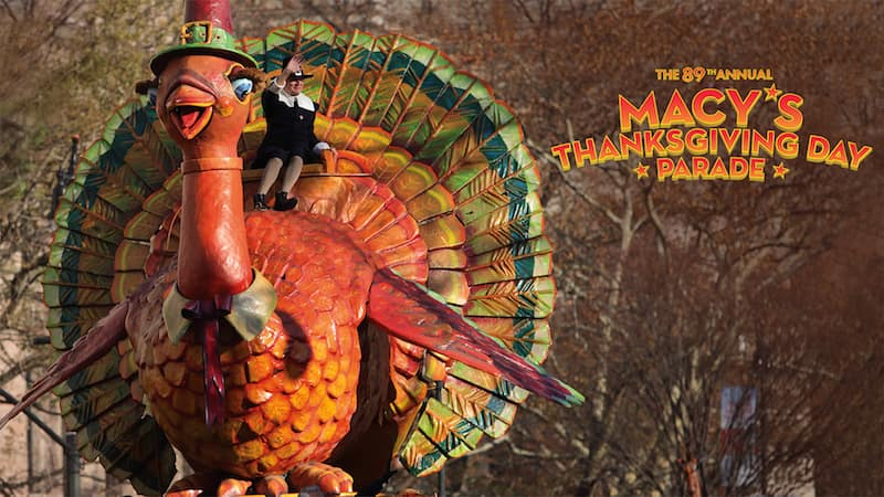 2015 Macy's Thanksgiving Day Parade Turkey