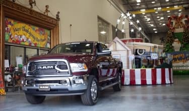 Ram Trucks Pull Floats Macy Parade