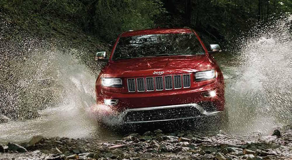 The 2016 Grand Cherokee Is One Of The Most Versatile SUVu0027s In The Class.  The Award Winning Vehicle Offers An Abundance Of Cargo Room, A Powerful  Engine ...